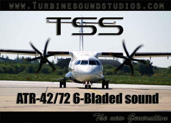 ATR-42/72 6-Bladed PW Soundpack for FS2004