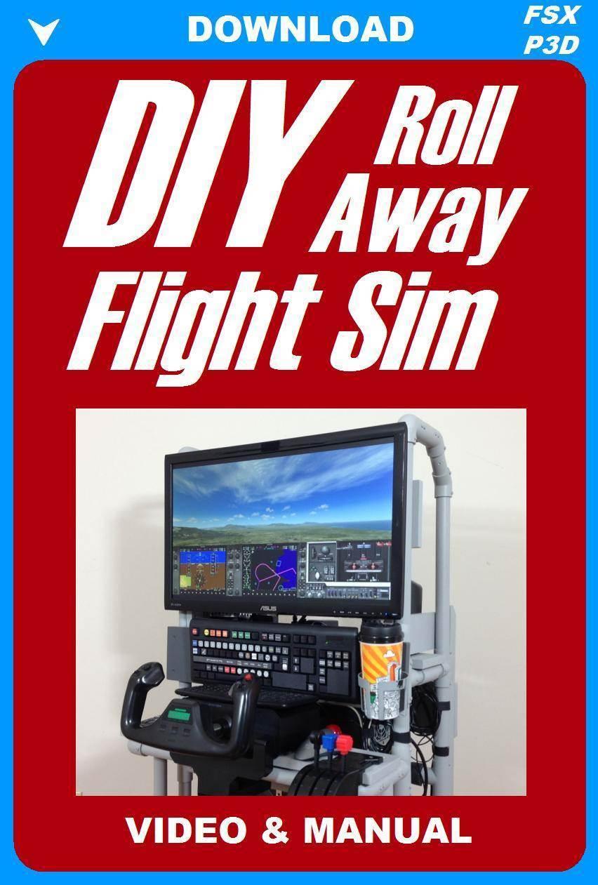 DIY Roll-Away Flight Sim Video
