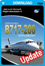 Ultimate B717-200 Simulation - UPDATE Only