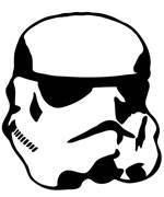Vinyl Decal - Star Wars Storm Trooper