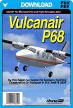 Vulcanair P68 (FSX/FS2004)