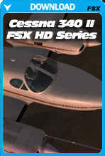 Carenado Cessna C340 II HD SERIES (FSX/FSX:SE/P3D)