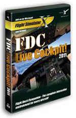 FDC Live Cockpit 2011 (FSX / FS2004) Boxed Edition