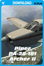 Carenado Piper PA28 Archer II v3.2 For XPlane 10.30+