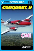 Alabeo C441 Conquest II (FSX/FSX:SE/P3D)