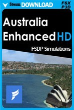 Australia Enhanced HD (FSX/FSX:SE/P3Dv1-v4)
