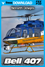 Bell 407 (FSX/FSX:SE/P3Dv4)