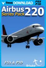Airbus A220 Series (FSX/FSX:SE/P3Dv1-v4)