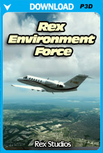 REX 5 - Environment Force (P3Dv4.4 and v4.5 Only)