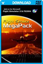 Flight Service Mega Pack - 45 Missions for FSX and FS2004
