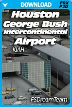 Houston George Bush Intercontinental Airport (FSX+P3D)