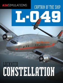 A2A Simulations - Captain of the Ship 049 Constellation (P3D) Professional