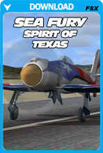 The Spirit of Texas, Sea Fury