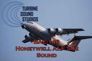 BAE-146 ALF 502 soundpack for FSX