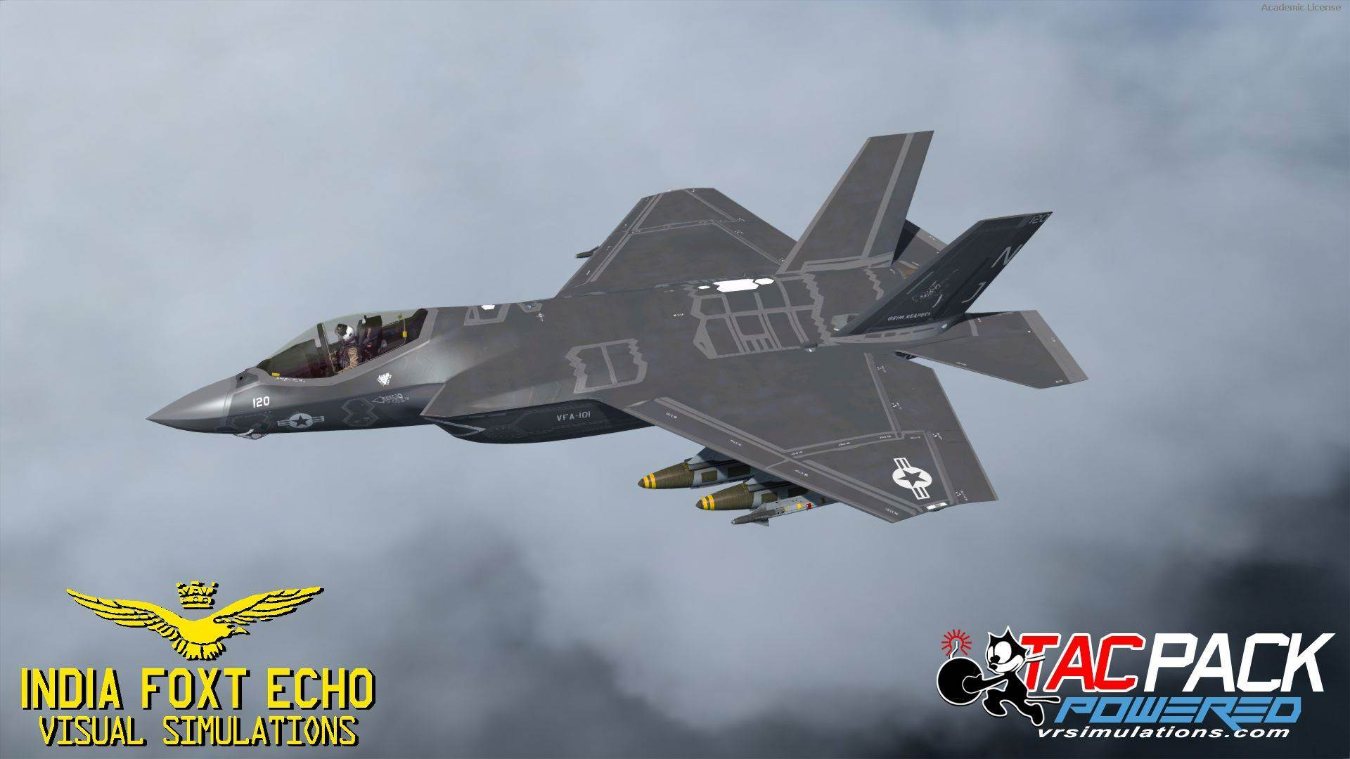F-35 Lightining II (P3D)