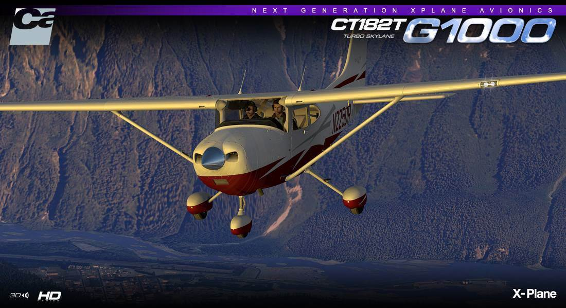 Carenado CT182T Skylane G1000 v3.2 HD Series (X-Plane)