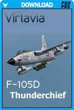 F-105D Thunderchief (FSX/FS2004)