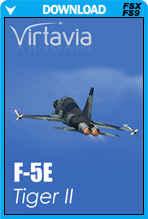 F-5E Tiger II (FSX/FS2004)