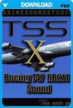 Boeing 747 series Soundpack for FSX