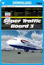 Super Traffic Board for Prepar3D
