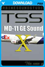 MD-11 GE SoundPack For FSX