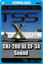 CRJ-200 GE-CF34 Soundpack for FSX
