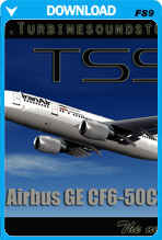 Airbus A300 CF6-50 Soundpack for FS9