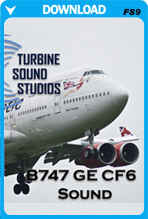 Boeing 747 GE SoundPack For FS2004