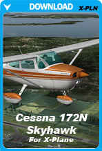 Carenado Cessna 172N Skyhawk For XPlane V2