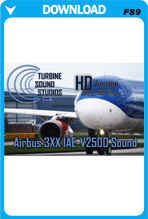 TSS Airbus 3XX IAE-V2500 HD FS2004 Sound Set