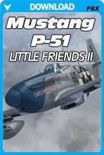 Mustang P-51D - Little Friends II
