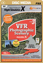 VFR Photographic Scenery Generation X - Volume 1 Southern England & South Wales for FSX