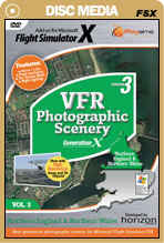 VFR Photographic Scenery Generation X - Volume 3 Northern England & North Wales for FSX