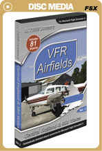 VFR Airfields Vol. 2 Central England & Mid Wales for FSX Only