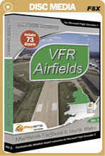 VFR Airfields Vol. 3 Northern England & Nth Wales for FSX Only