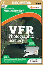 VFR Photographic Scenery - Volume 3 Northern England & North Wales for FS2004