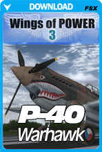 Wings of Power 3 P-40 Warhawk