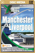 Xtreme Airports Volume 3 Manchester and LIverpool for FSX and FS2004