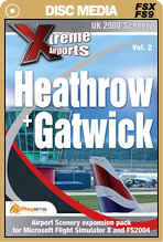 Xtreme Airports Volume 2 Heathrow and Gatwick for FSX and FS2004