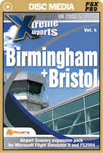 Xtreme Airports Volume 4 Birmingham and Bristol for FSX and FS2004