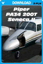 Carenado Piper PA34 200T Seneca II v3.2 for X-Plane 10.30+