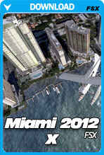 Miami City 2012 X (FSX)