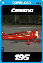 FlySimWare Cessna 195 (FSX/FSX:SE/P3Dv1-v4)