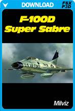 MilViz F-100D Super Sabre (FSX/FSX:SE/P3D)