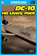 CLS - DC10 Collection HD Livery Pack (FSX/P3D)
