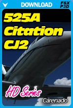 Carenado 525A Citation CJ2 HD Series (FSX/P3D)
