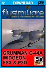 Grumman G-44A Widgeon (FSX/FSX:SE/P3D)