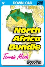 TopoSim - North Africa Bundle