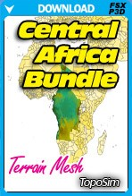 TopoSim - Central Africa Bundle