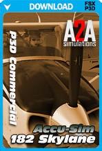 A2A Simulations Accu-Sim C182 Skylane (P3D Commercial)